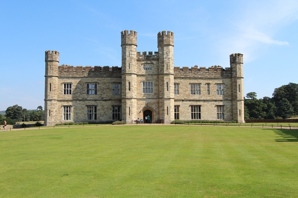 Leeds Castle near London, England