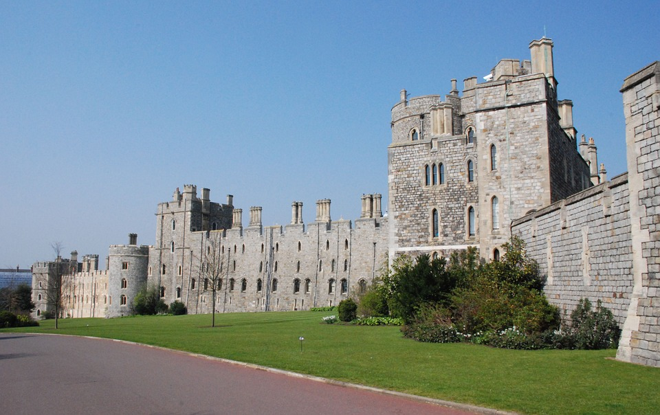 Windsor Castle near London, England