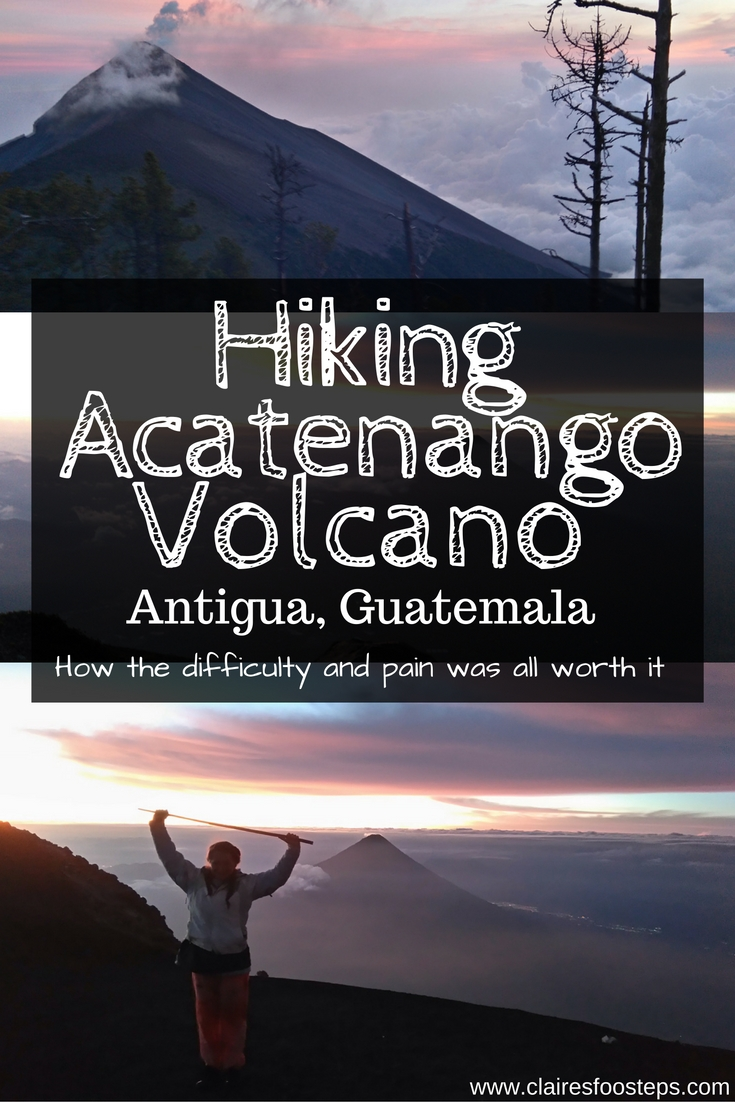 Hiking Acatenango Volcano in Guatemala was one of the most difficult yet amazing things I've ever done. Here's some tips and guidance for those tackling the volcano.