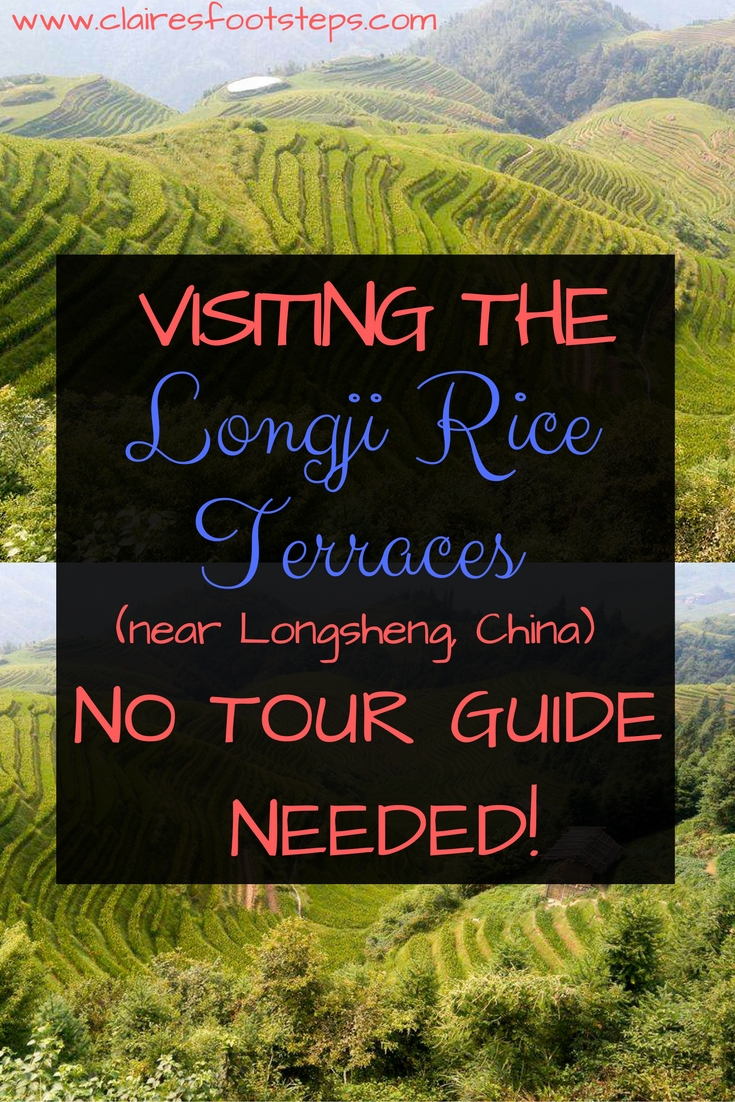 It's possible to visit the Rice Terraces Nea