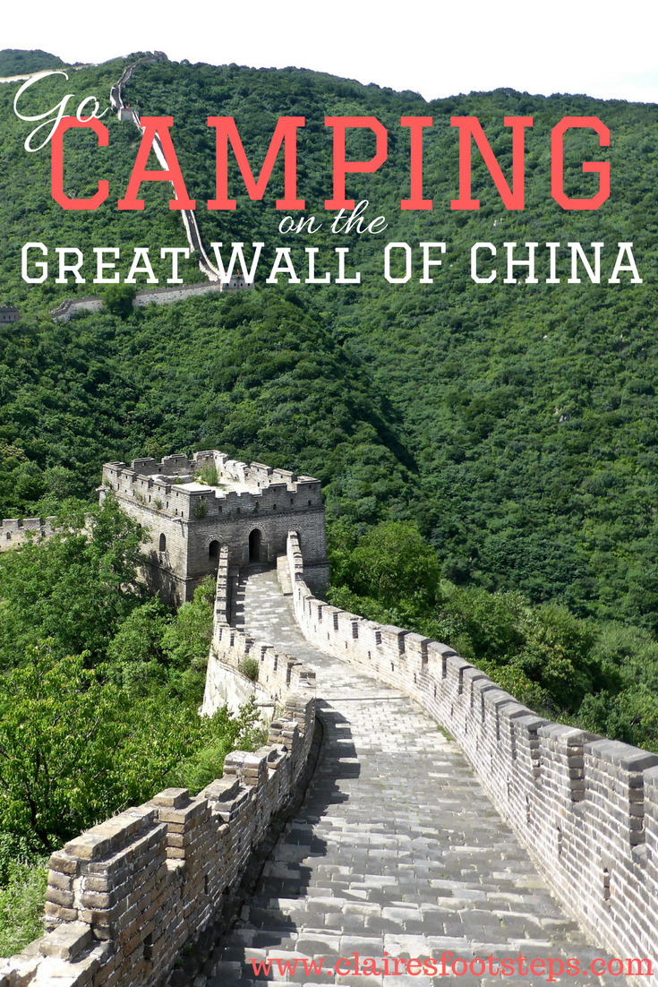Did you know you can go camping on the Great Wall of China? Here's the best way to do it