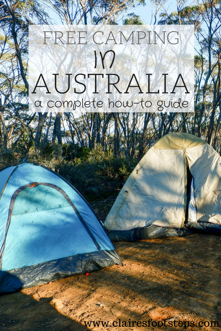 Free Camping In Australia A How To Guide Claire S Footsteps