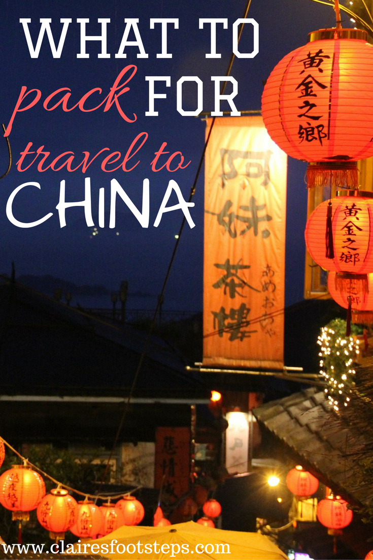 Wondering what to pack for China? This detailed China packing list will tell you what items to take with you on your China trip. It includes electronics, clothes and what to pack for China in winter. Click through to find out the best things to take to China!