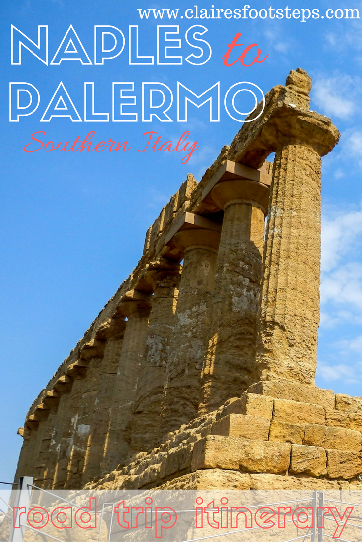 If you're planning a southern Italy road trip, this Naples to Palermo drive itinerary is for you. It will help you see the best things to do in south Italy and help you enjoy the best food and culture Sicily and southern Italy have to offer! Click through for full details of this Naples to Palermo road trip.