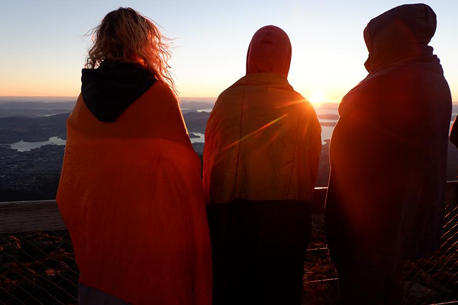 Mount Wellington Sunrise, Tasmania