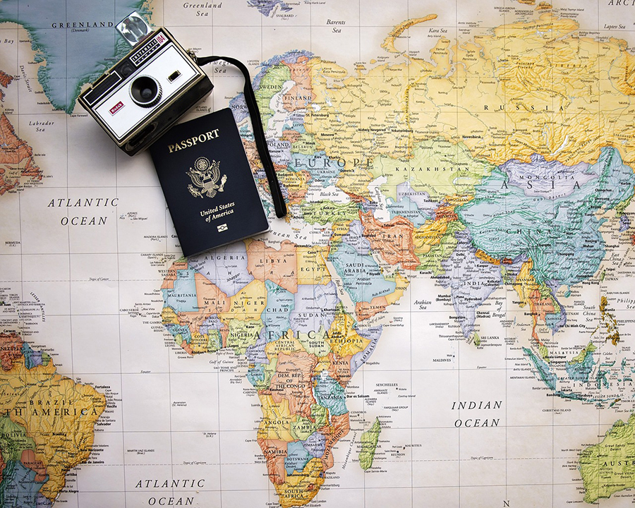 Passport and other documents