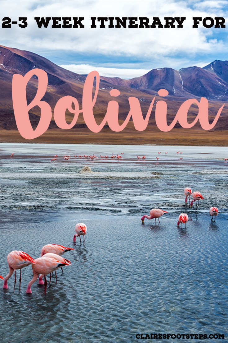 3 weeks in Bolivia itinerary to for the best things to do in Bolivia. Check out this Bolivia travel itinerary for the best adventures in Bolivia, the best nature in Bolivia and the best culture in Bolivia. Learn about how to travel Bolivia and what backpacking Bolivia is like. If you only have 1 week in Bolivia or 2 weeks in Bolivia you could adapt the itinerary as well. Check out the best attractions in Bolivia by clicking this post! #bolivia #travelitinerary