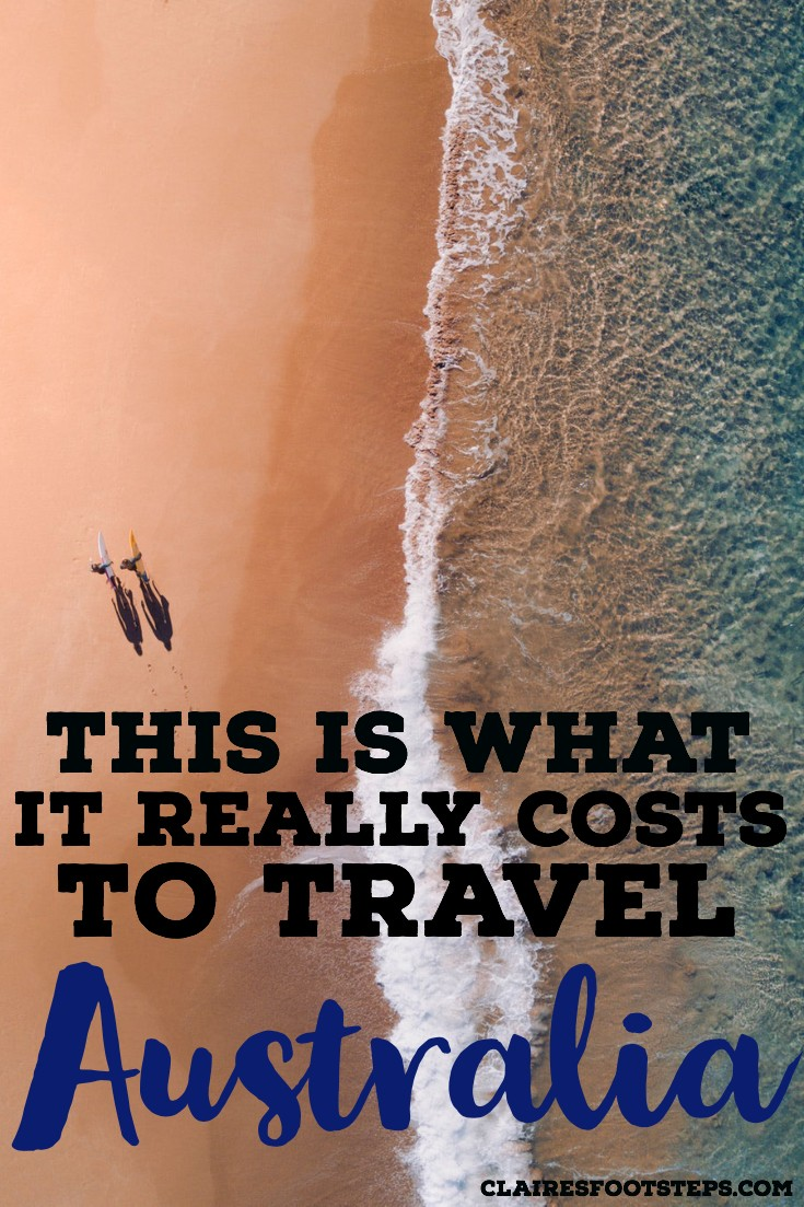 The cost of Travel in Australia| Australia travel budget| Australia budget| One month in Australia cost| Cost of 6 week trip to Australia| One week in Australia cost| how much does it cost to travel to Australia| backpacking Australia costs #australia #budget