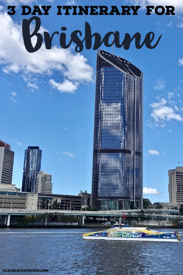 3 day Brisbane itinerary featuring the best things to do in Brisbane, where to eat in Brisbane, where to stay in Brisbane and day trips from Brisbane. Whether you are spending one day in Brisbane or a week in Brisbane, this itinerary is perfect. Use it when travelling in Queensland, Australia!