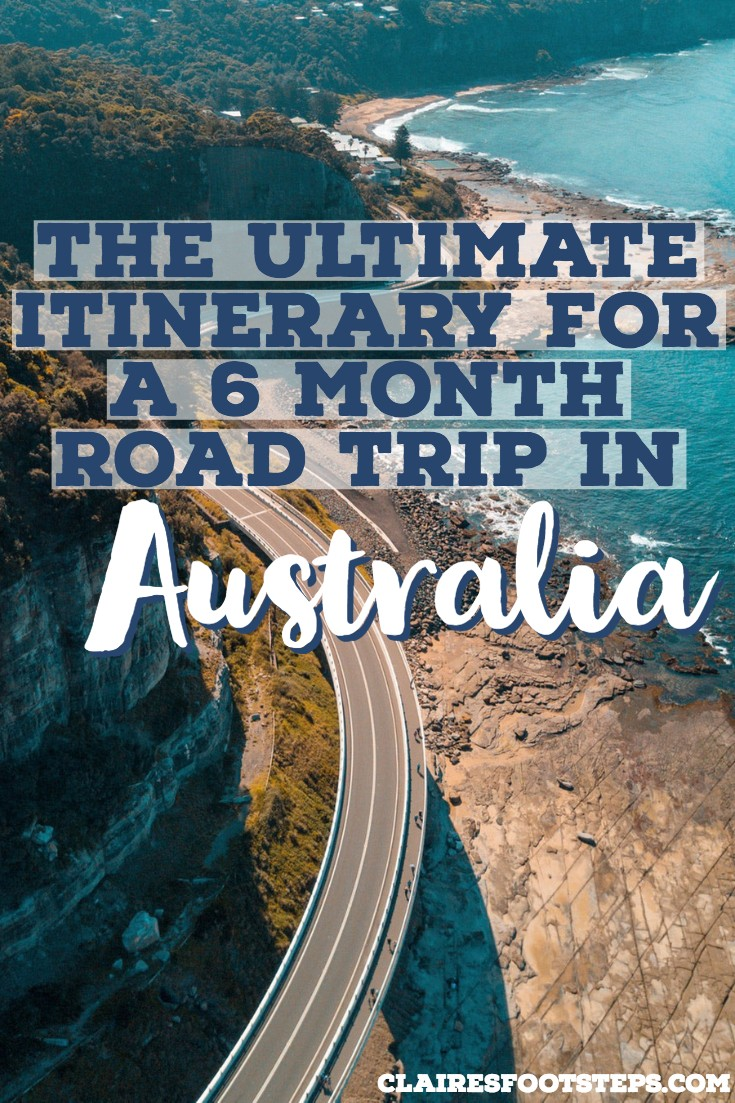 Planning a road trip in Australia? This road trip Australia itinerary takes you to the best spots in every state. It is a 6 month Australia itinerary covering more or less the whole country. Check out the Australia highlights by visiting this post! #australia #roadtrip