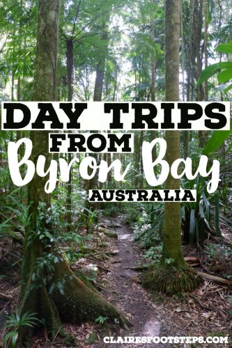 If you're looking for things to do around Byron Bay, check out these Byron Bay day trips. From waterfalls in Byron Bay, towns near Byron Bay to places near Byron Bay, these are the best day trips from Byron Bay that you'll enjoy. #australia #byronbay