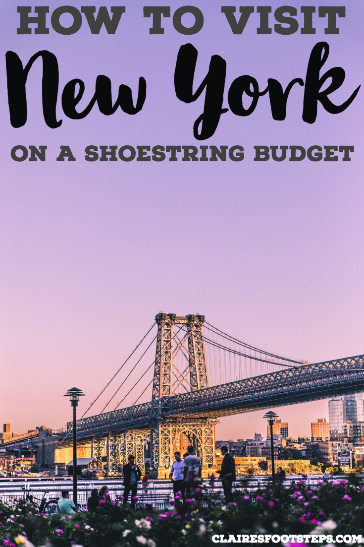 Searching for the best free things to do in New York? This guide to New York on a budget will show you how to see New York with no money and includes where to drink in New York for cheap, cheap restaurants in New York City, cheap hostels in New York and budget accommodation in New York. Check it out! #newyork #budgettravel