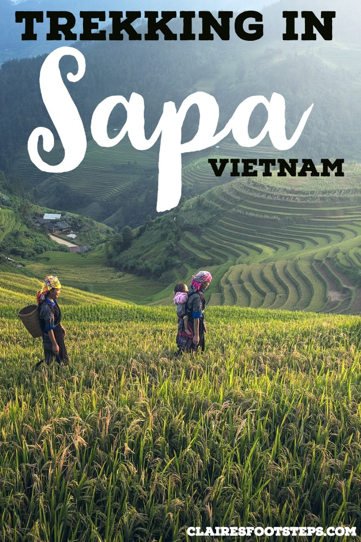 If you're planning on trekking in Sapa Vietnam, check out this Sapa travel guide for all of the things to do in Sapa, hikes in Sapa Vietnam, hotels in Sapa Vietnam and restaurants in Sapa Vietnam. It's one of the best things to do in Vietnam and best places to visit in Vietnam for sure, well worth seeing when you're traveling in South East Asia!