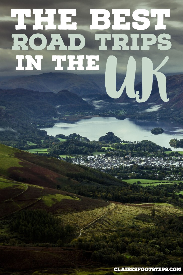 This blog post features the best road trips in the UK and the best road trips in Ireland. Featuring the Lake District, the south coast drive, Giants Causeway in Northern Ireland and a road trip to the Isle of Skye in Scotland, check this out for UK road trips. #uk #roadtrips