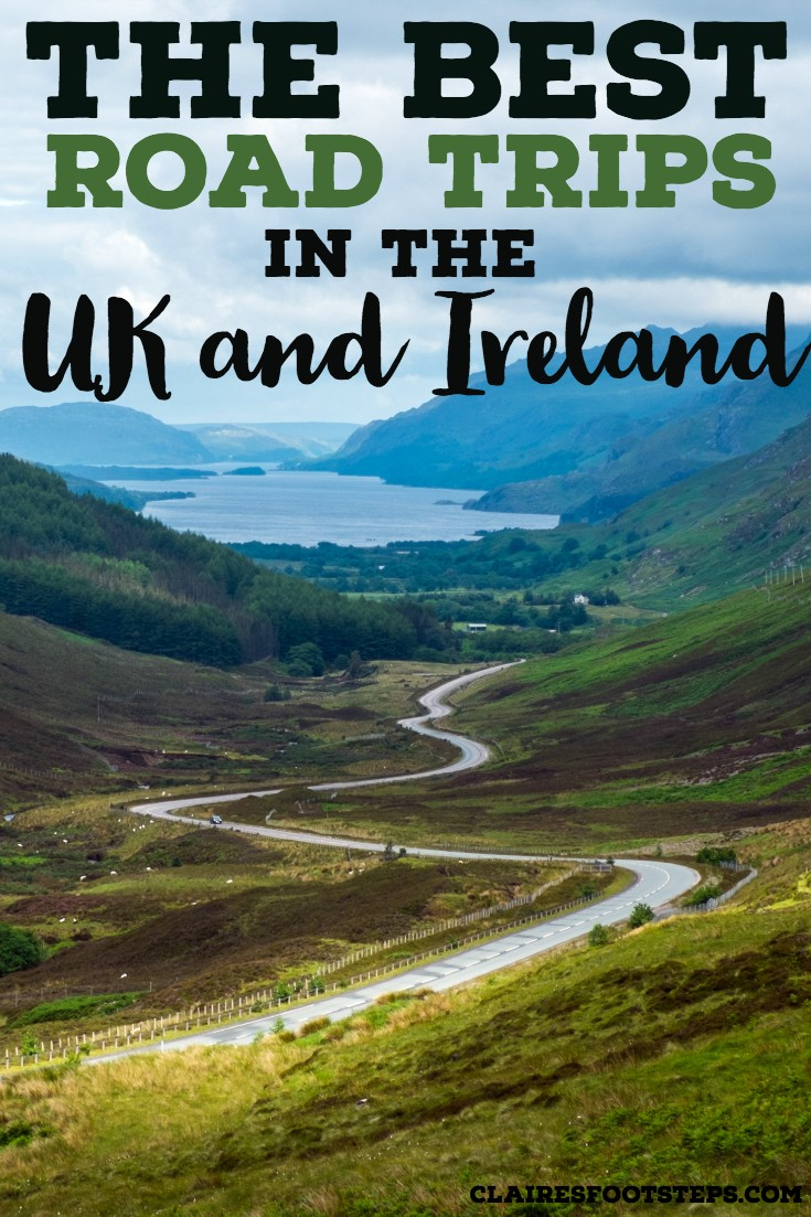 If you're looking for the best UK road trips, look no further than this post. Featuring the best road trips in Ireland as well as road trips in England, road trips in Wales and road trips in Scotland. If you're looking for things to do in the UK, look no further than this UK road trip guide! #uk #roadtrip #travel #inspiration