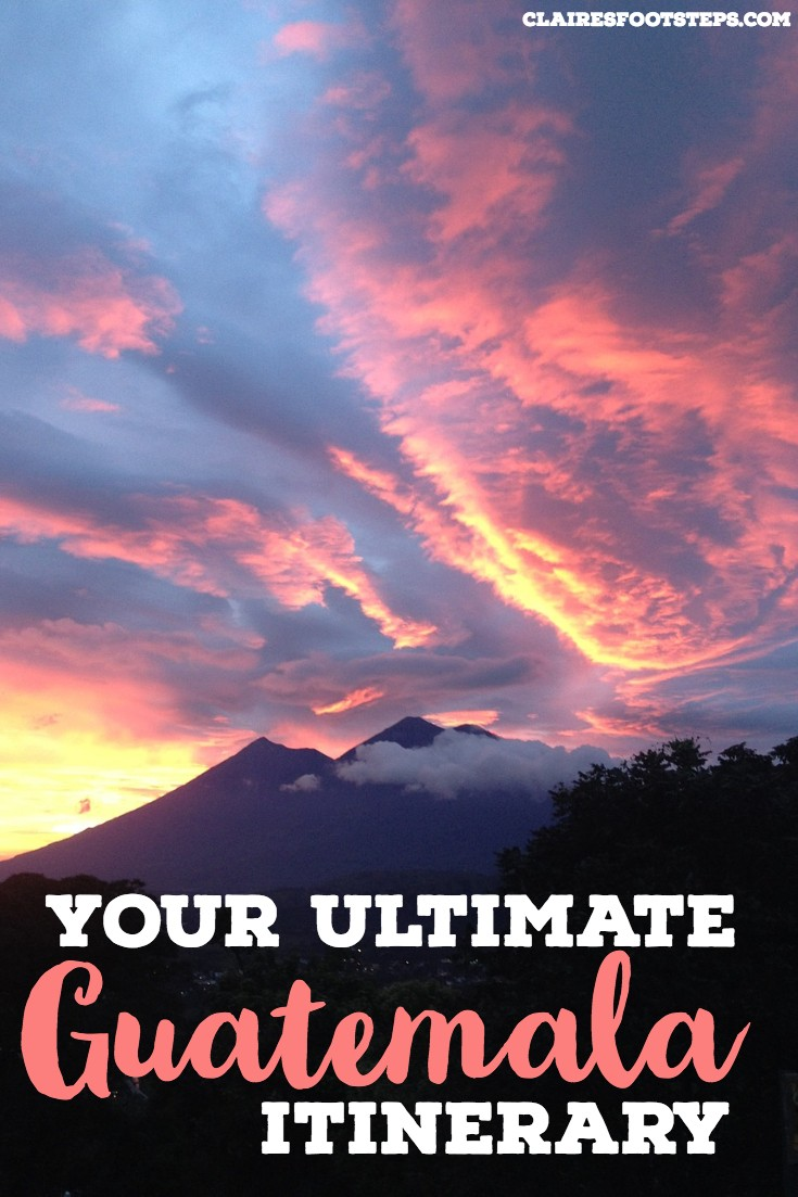 If you're after a Guatemala itinerary to guide you through the entire country, check out this guide to Guatemala which will tell you all the best things to do in Guatemala. Whether you want to spend 2 weeks in Guatemala, 3 weeks in Guatemala or one month in Guatemala, this backpacking Guatemala travel guide will show you the ropes! #guatemala #travel