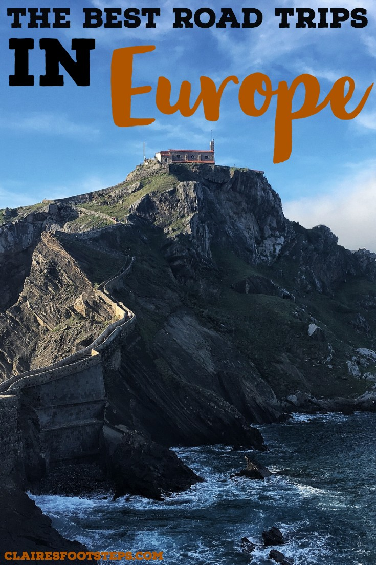 Searching for the best road trips in Europe? Or maybe how to road trip Europe? Check out this post which will tell you all you need about driving around Europe! Featuring road trips in France, road trips in Spain, road trips in Italy, road trips in Germany and more. These are the best things to do in Europe for sure! #roadtrip #europe