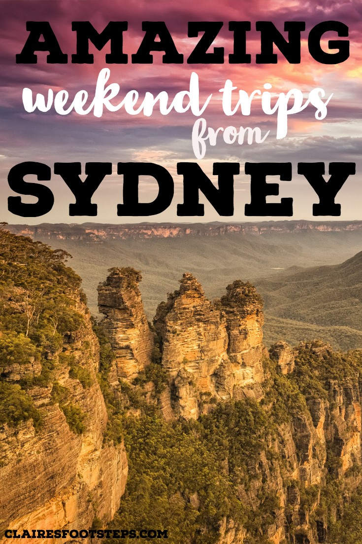 If you're wondering what the best weekend trips from Sydney are, check out this post which shows you road trips from Sydney, drives from Sydney and things to do near Sydney. Featuring the Blue Mountains, Jervis Bay, the Central Coast and lots more in New South Wales, Australia, you'll love this list of things to do in Sydney!