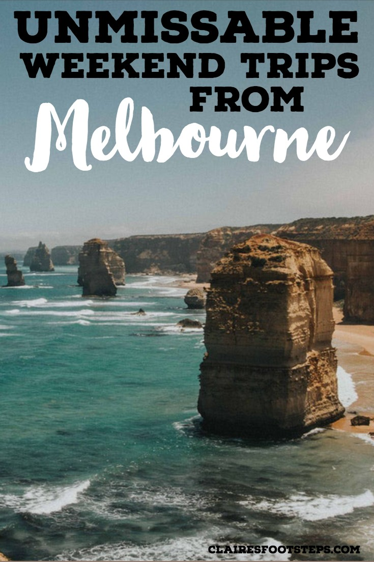 Ideas for Weekend Trips from Melbourne | Claire's Footsteps
