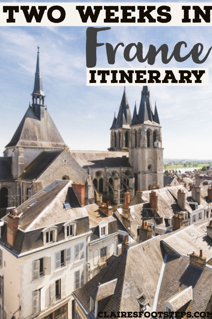 If you're wanting to spend two weeks in France, check out this France itinerary that will show you where to go in France, the best places to visit in France and amazing things to do in France! Including restaurants in France and bars in France, you'll love this two week France itinerary. If you only have ten days in France or one week in France, you can use it too! #france #travel #itinerary