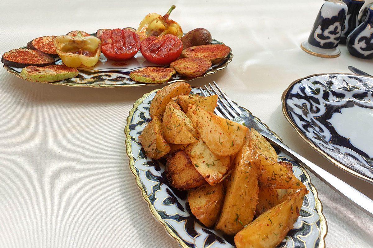 vegetarian uzbekistan food