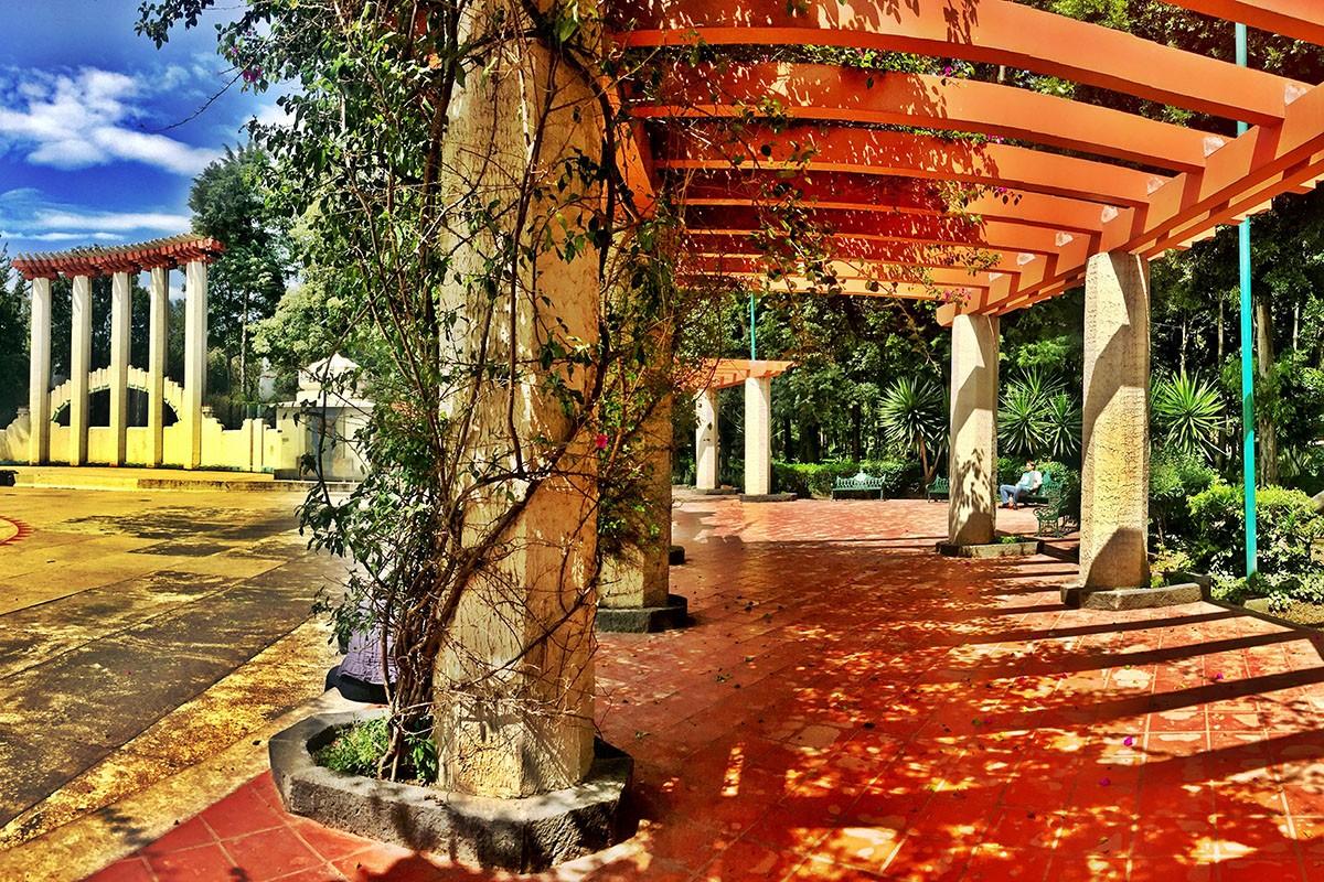 Condesa park Mexico