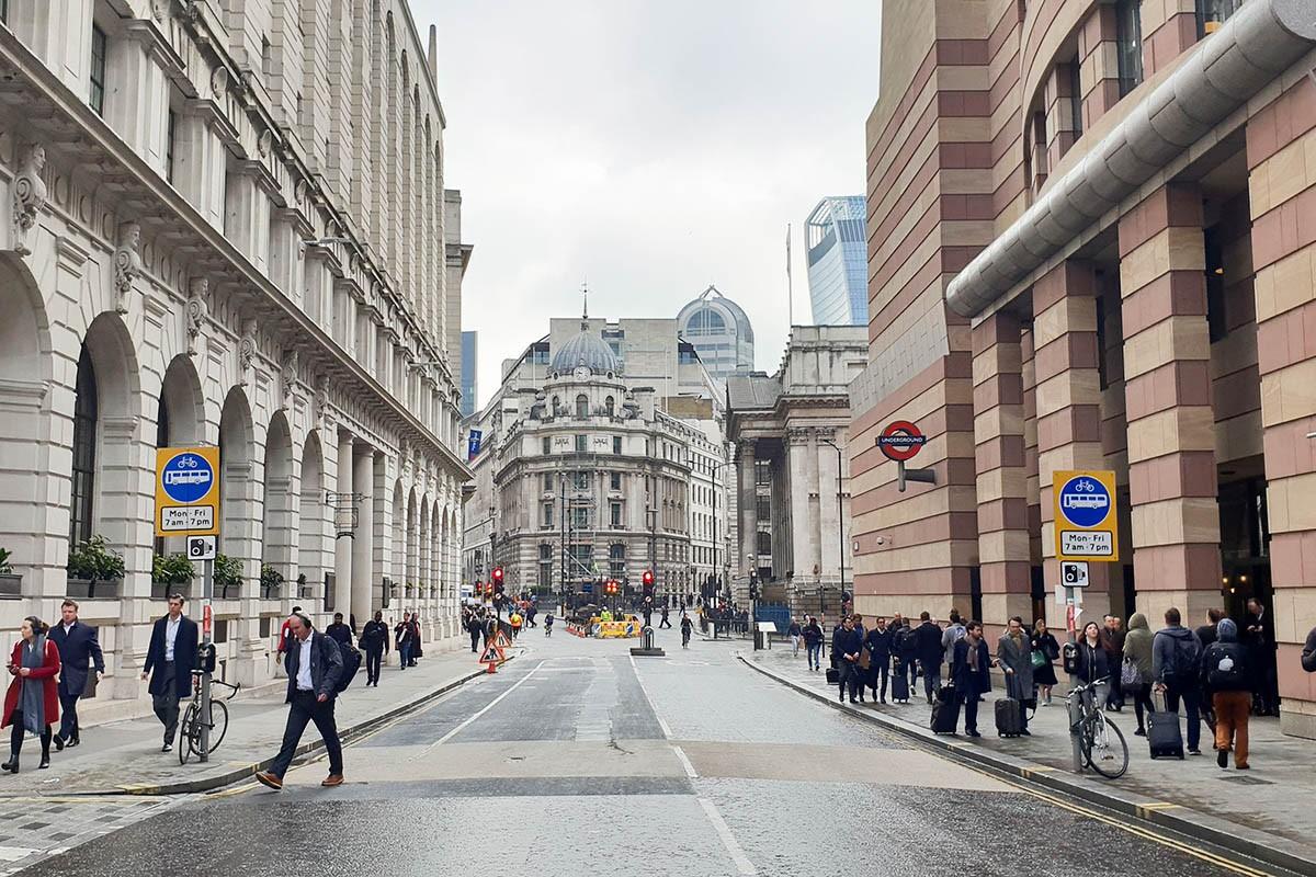 London city scene