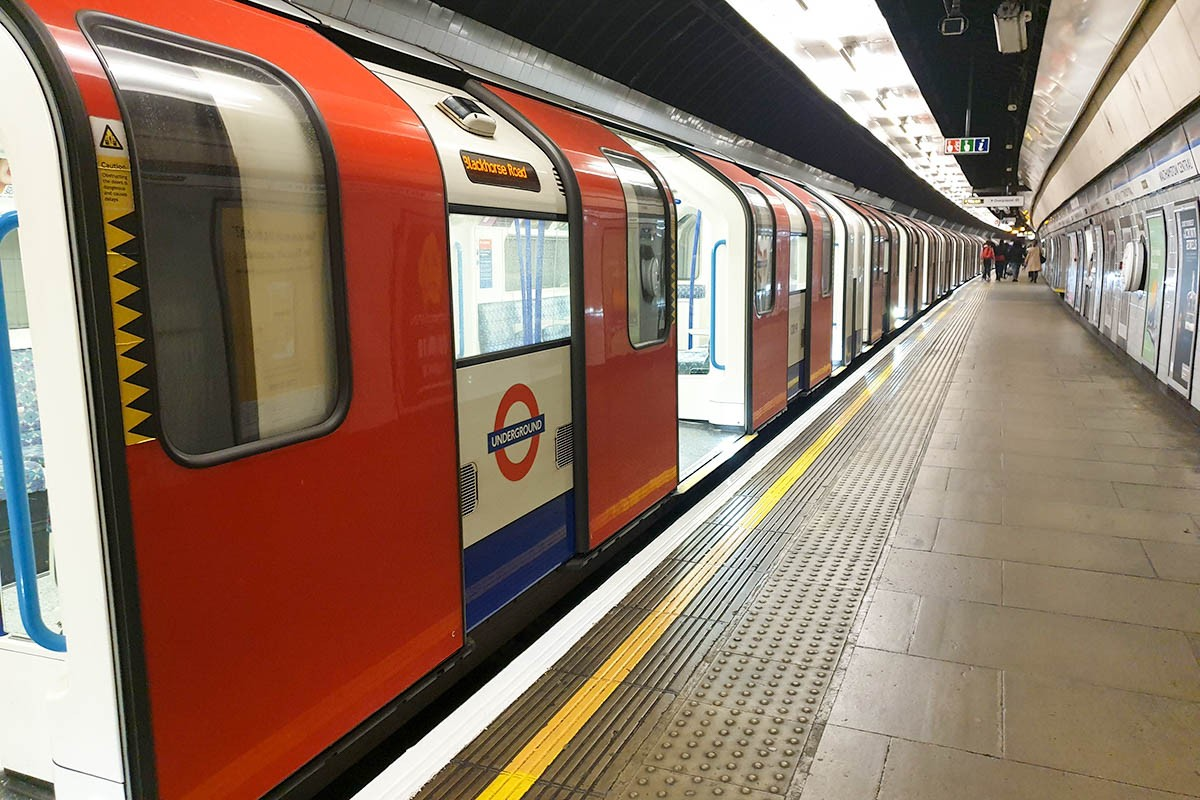 outside of the tube