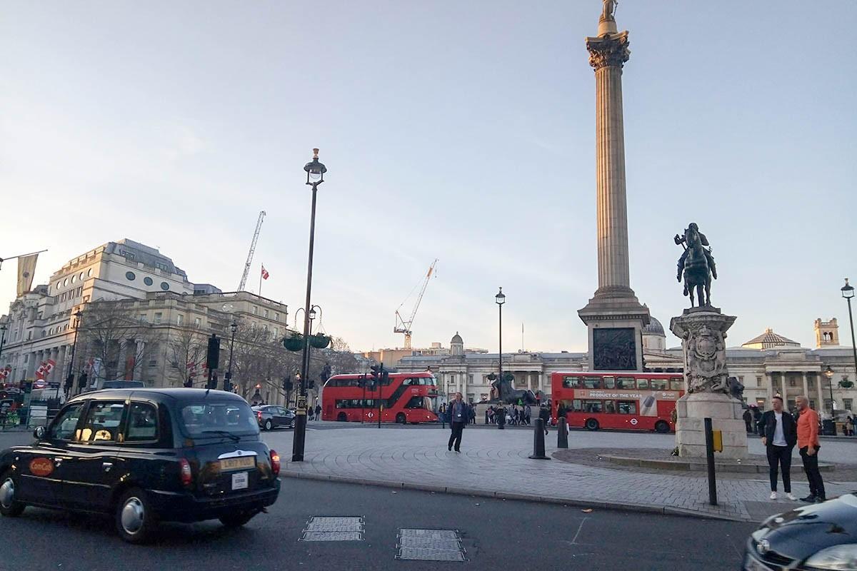 black cab in London