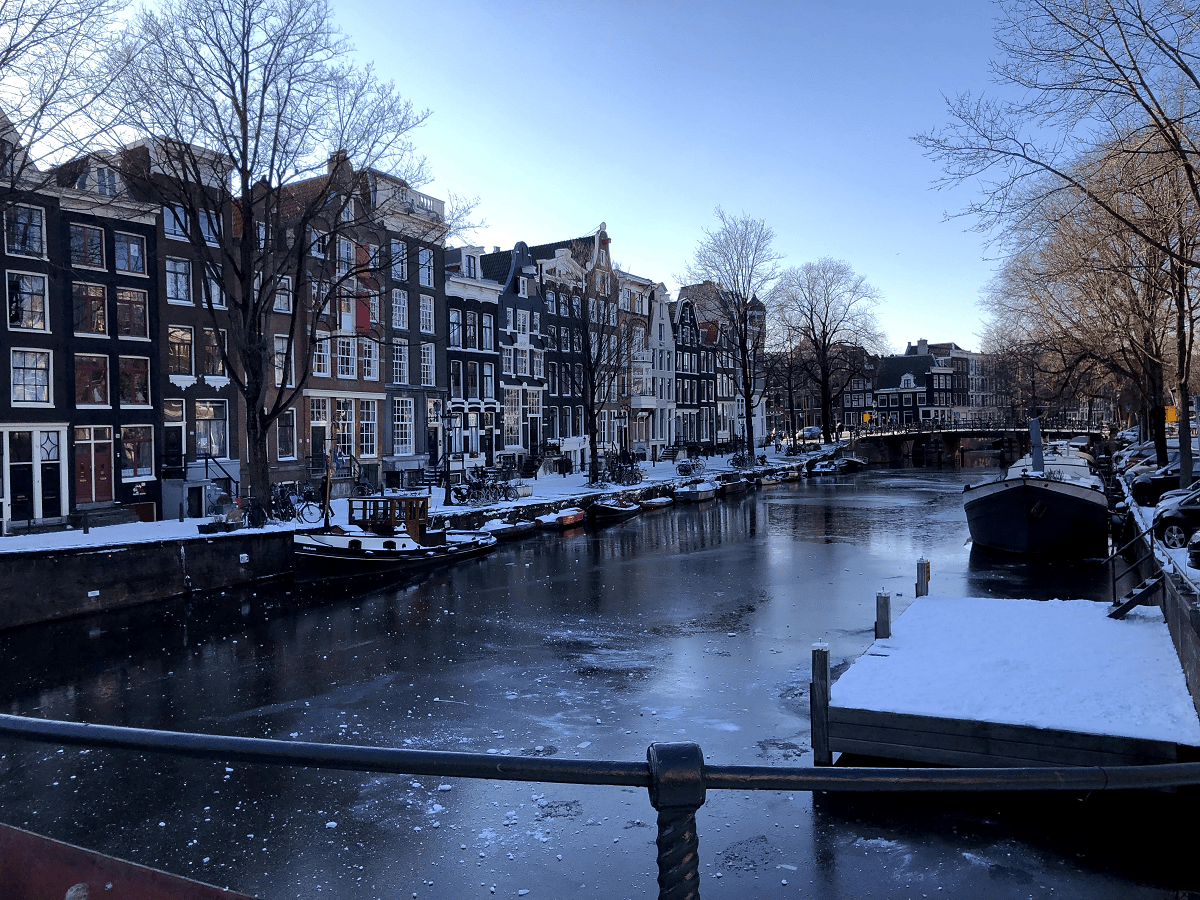 Amsterdam in Winter COLLAB ONLY