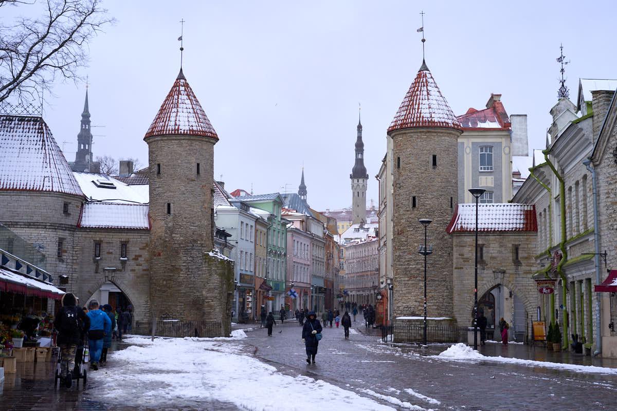 Tallinn in winter COLLAB ONLY
