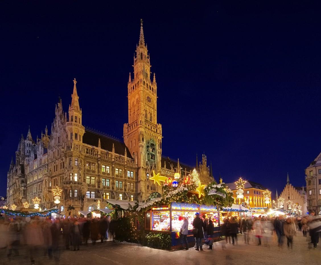 Munich in Germany, christmas market